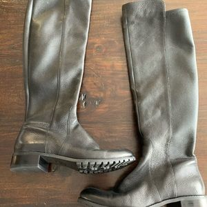Michael Kors tall leather boots size 8.5 new